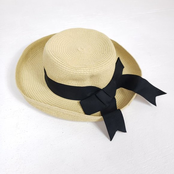 3/$25 Cute Straw Summer Sun Hat with Bow